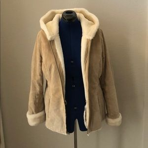 Suede Sonoma Large Heavy Coat